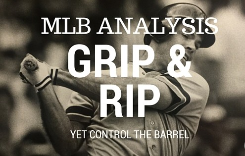 Matt Nokes- Grip and Rip yet Control the Barrell - Hittign Advice that Changes you Forever