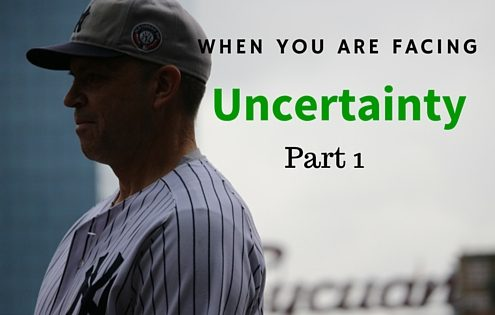 When Facing Uncertainty as a Hitter