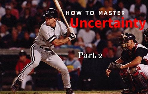 How to MASTER uncertainty- the 5 Values of a MLB Hitter